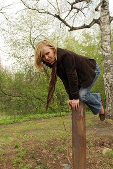 Free Beautiful Girl Have Fun Stock Image - 2479171