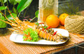 Free Grilled Lobster Royalty Free Stock Photos - 24709608