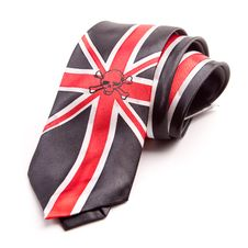 Free Necktie With British Flag Royalty Free Stock Images - 24700259