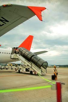 Free Passenger On Air Field Stock Photo - 24700510
