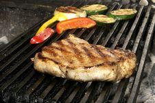 Free Steaks Royalty Free Stock Photos - 24701478