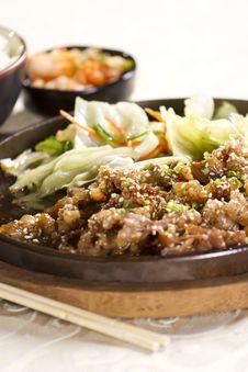 Free Beef On Pan Stock Photo - 24702640
