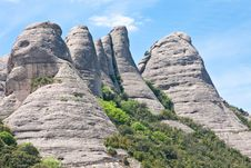 Free Montserrat Mountain. Catalonia. Spain Royalty Free Stock Images - 24703129