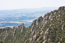 Free Montserrat Mountain. Catalonia. Spain Royalty Free Stock Photography - 24703187