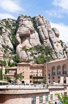 Monastery Of Montserrat. Catalonia