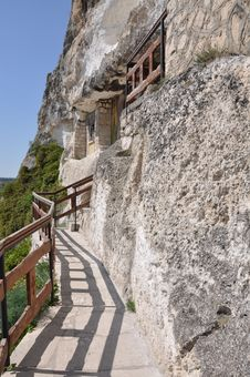 Free Stone Stairs Church Royalty Free Stock Photography - 24703697