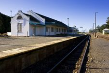 Free Deserted Train Station Stock Images - 24704214