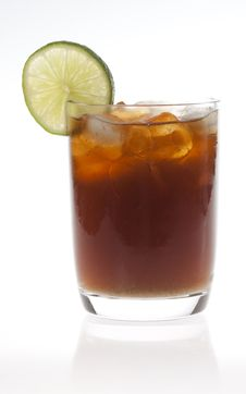 Cuba Libre Cocktail Stock Photography