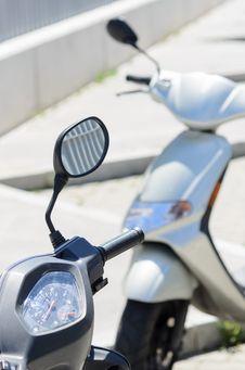 Free Parked Motorbikes Stock Photos - 24706343