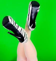 Elegance Legs Stock Photo