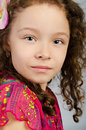 Free Portrait Of Cute Little Girl Royalty Free Stock Photos - 24714098