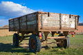 Free Rusty Wooden Trailer Stock Photography - 24717252