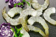 Free Raw Shrimps Royalty Free Stock Photos - 24710788