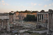 Free The Forum Romanum. Stock Photos - 24711433