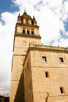 Free Tower Of Cathedral In Salamanca Royalty Free Stock Image - 24717786
