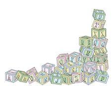 Free Alphabet Blocks Royalty Free Stock Image - 24719886