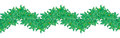 Free Green Leaves, Seamless Border Stock Photography - 24728592