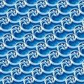 Free Seamless Wave Pattern Royalty Free Stock Image - 24728626