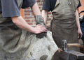 Free Blacksmith Working Men Royalty Free Stock Images - 24729079