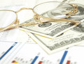 Free Financial Graph Royalty Free Stock Images - 24729189