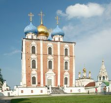 Free Cathedral Of The Dormition Stock Image - 24720281