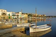 Porto Colom Dock Royalty Free Stock Image