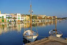 Free Porto Colom Royalty Free Stock Photography - 24720707