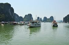 Free Ha Long Bay In Vietnam Stock Image - 24721961