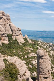 Free Montserrat Mountain. Catalonia. Spain Stock Photos - 24723013
