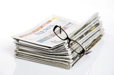 Free Bird Eye View Newspapers Royalty Free Stock Photography - 24723127