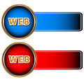 Free Two Web Icons Stock Image - 24733881