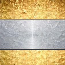 Free Brushed Metal Background Royalty Free Stock Image - 24735686