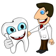 Free Dentist And Tooth Stock Photo - 24736250
