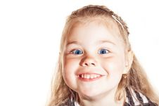 Free Smiling Little Girl Stock Photography - 24736482