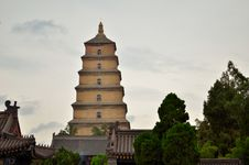 Free Big Wild Goose Pagoda Stock Photos - 24737853