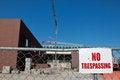 Free No Trespassing Stock Photo - 24743530
