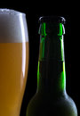 Free Glass Of Beer With Bottle Royalty Free Stock Images - 24743809