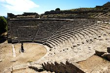 Free Segesta &x28;Sicily&x29; - The Theater Royalty Free Stock Images - 24740299