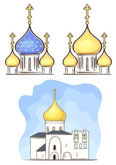 Free Russian Church Stock Photography - 24740712