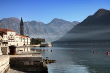 Free Perast Village Near Kotor, Montenegro Stock Photo - 24742390