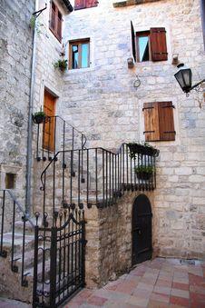 Free Backstreet In Old Town Of Kotor, Montenegro Royalty Free Stock Photo - 24742525