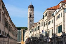 Free Dubrovnik, Plaza Stradun, Croatia Stock Photos - 24742593