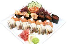 Free Sushi Royalty Free Stock Photos - 24743048