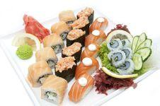 Free Sushi Royalty Free Stock Photography - 24743077