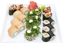 Free Japanese Sushi Royalty Free Stock Images - 24743099