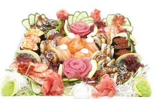 Free Japanese Sushi Royalty Free Stock Photos - 24743108