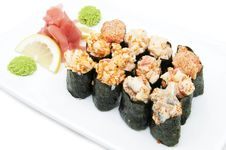 Free Japanese Sushi Royalty Free Stock Photo - 24743115