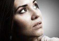 Free Female Portrait Royalty Free Stock Photo - 24744085