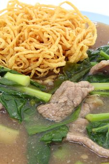 Free Crispy Yellow Noodle Stock Images - 24745654