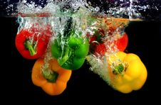 Free Bell Pepper Royalty Free Stock Photos - 24745888